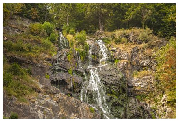 foto's, Todtnau Waterfall, Baden-Württemberg, Duitsland