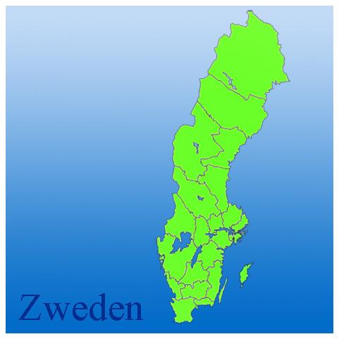 kaart, zweden, provincies , natuurfoto's