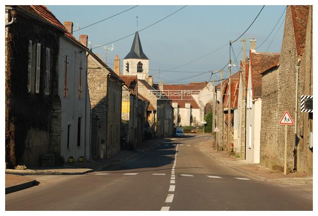 foto's, Nitry, Yonne, Bourgondië, Frankrijk