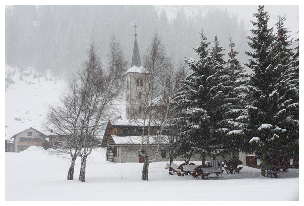 foto, Le Bois, Savoie, Frankrijk
