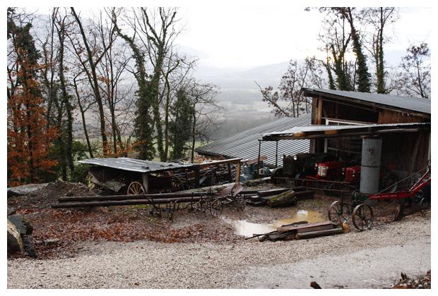 foto, Grésy-sur-Isère, Savoie, Frankrijk, Ècomusée de la combe de Savoie