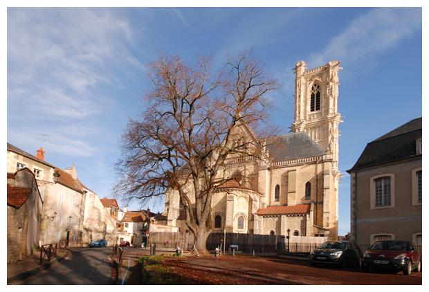 foto's, Nevers, Nièvre, Bourgondië, Frankrijk