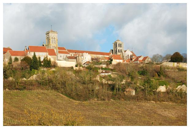 foto´s Vézelay, regio Bourgondië, Frankrijk