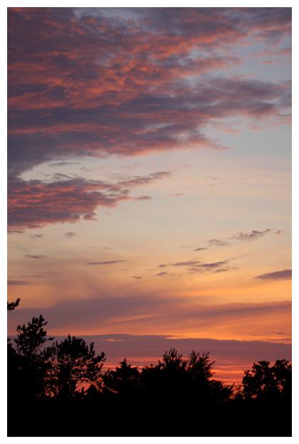 foto's, zonsondergang, ondergaande zon gaat onder, denemarken