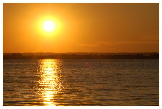foto's, zonsondergang, ondergaande zon gaat onder, zweden
