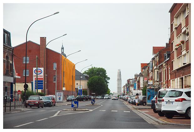 foto's, Tour Perret in Amiens, regio Hauts-de-France, Frankrijk