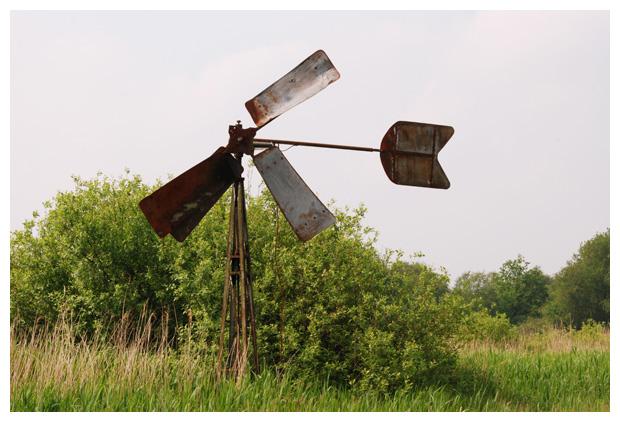 foto's, metalen molen, molens, molentje, wind, windmolen