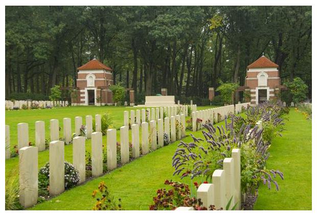 foto's, Canadese begraafplaats Groesbeek, Gelderland, Nederland